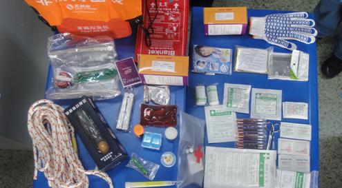 国际红十字日和防灾减灾日活动