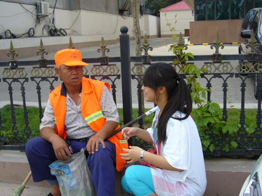 橙色之家——环卫工人休息站