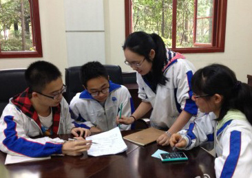 网上竞赛积极展现各地中学生领导力项目风采