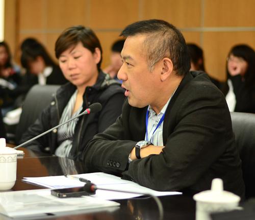 著名企业家,教育专家,全国中学生领导力大赛组委会企业家评委夏弘禹先生