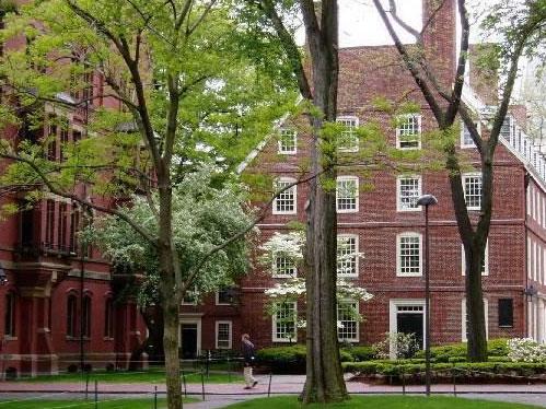 美国哈佛大学校园景色