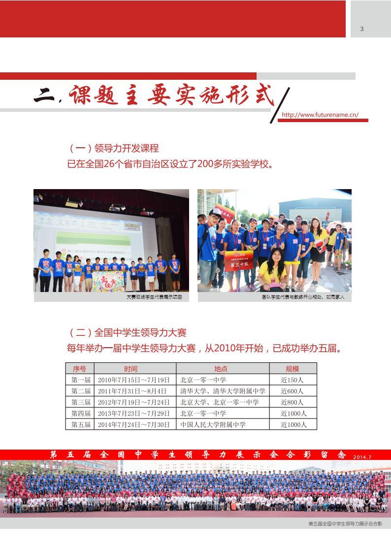 中学生领导力课题介绍(五周年成果介绍)_Page5