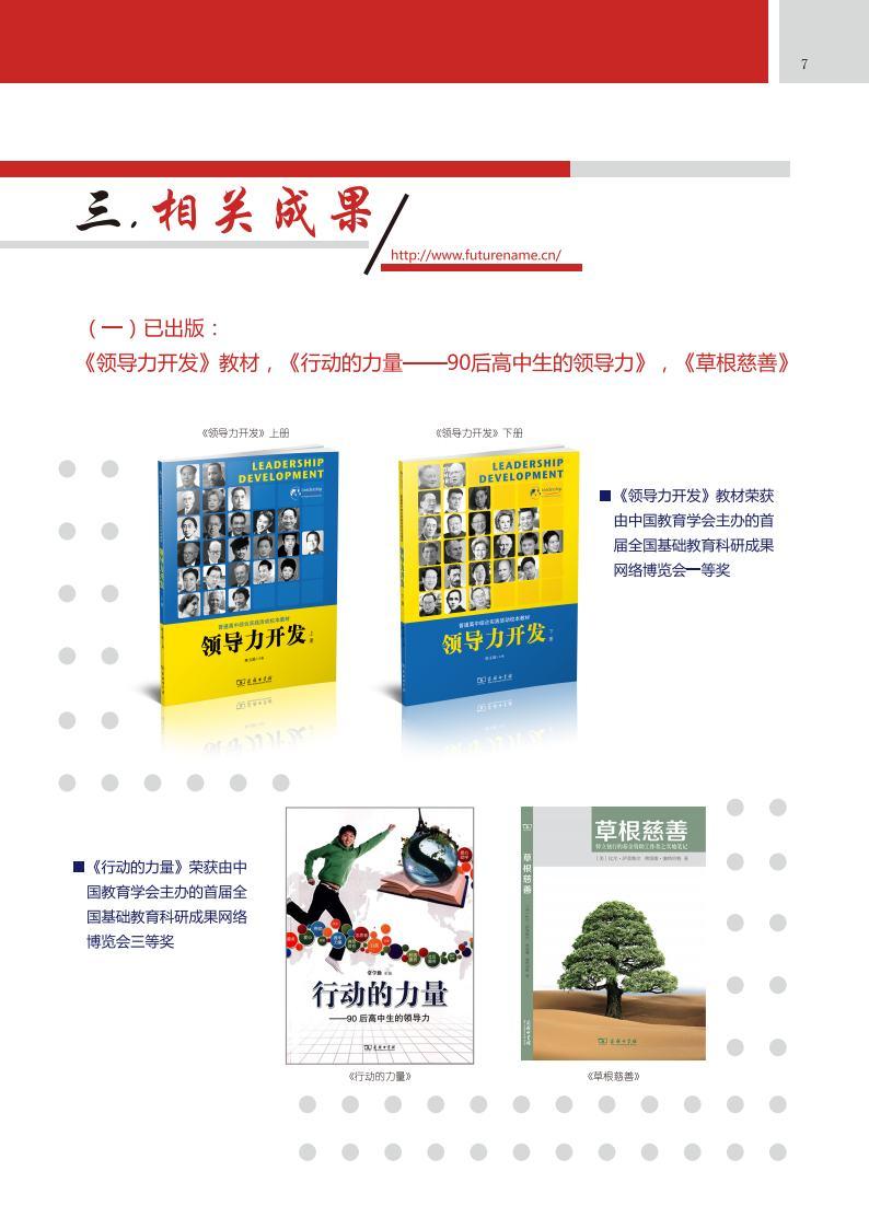 中学生领导力课题介绍(五周年成果介绍)_Page9